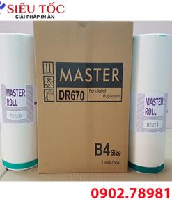 Master Duplo DR670